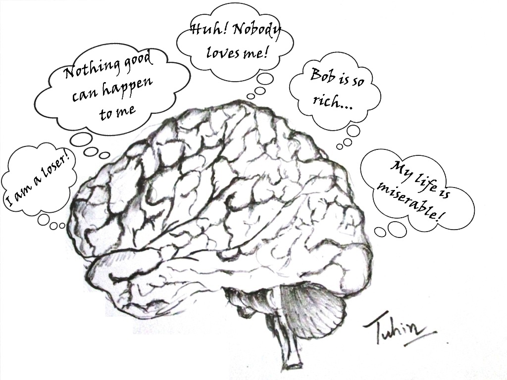 A typical negative mind