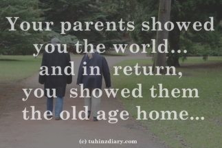 oldage home quotes