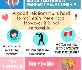 signs of a perfect relationship infograph